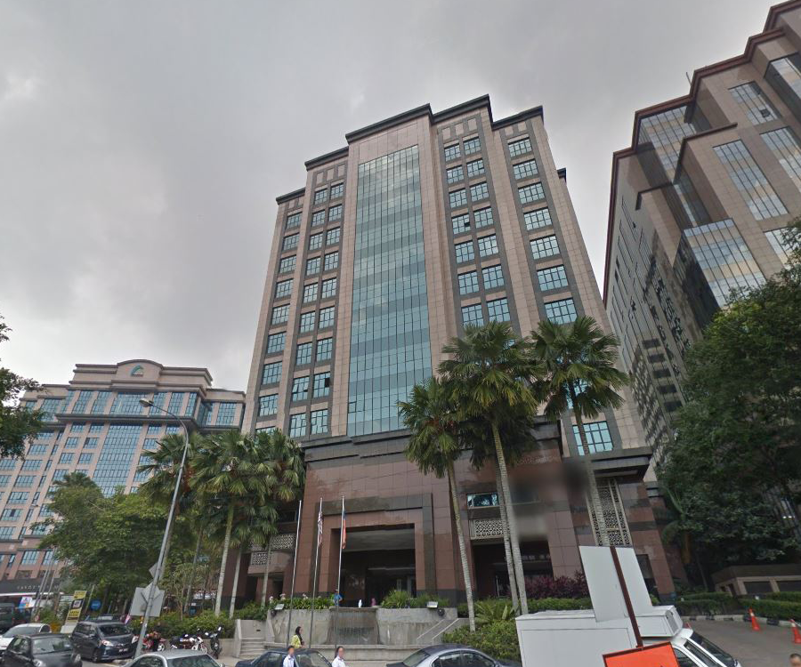 Bangunan setia1 office for rent in damansara